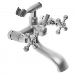 Смеситель Accoona A6071U для ванны с душем матовый