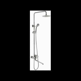 Душевая стойка Accoona A83103-2 нержавеющая сталь