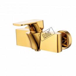Смеситель д/душа D&K DA1433103, золото