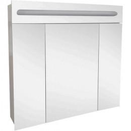 Зеркальный шкаф Аврора-100 с подсветкой