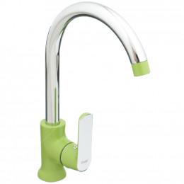 Смеситель Frap F4033 для кухни зеленый