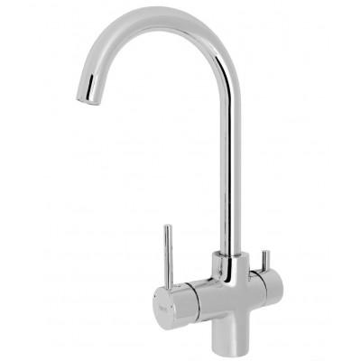 Смеситель д/кухни Gappo G1052-8, с каналом для питьевой воды
