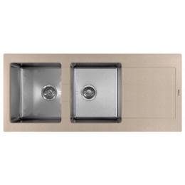 Кухонная мойка Florentina Комби-1160 песочный