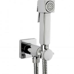 Гигиенический душ Bossini Cube Brass E38001B со смесителем, хром