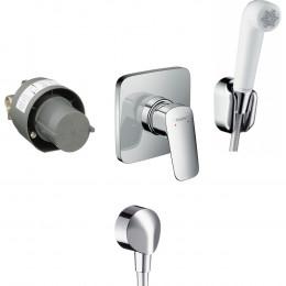 Гигиенический душ Hansgrohe Logis SET со смесителем