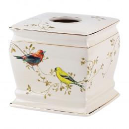 Бокс для салфеток Avanti Gilded Birds