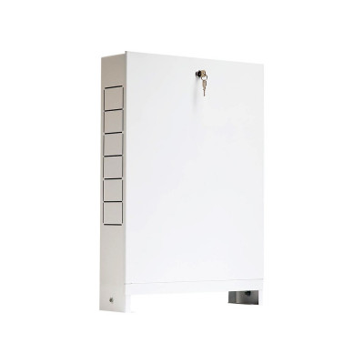 Сантехнический шкаф Stout ШРН-6 17-18 выходов, наружный