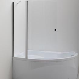 Шторка на ванну Aquanet Alfa 2 NF7221-2 pivot для ванны Jamaica