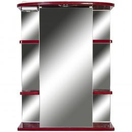 Зеркало-шкаф 1 Orange Кларис 55 бордовый