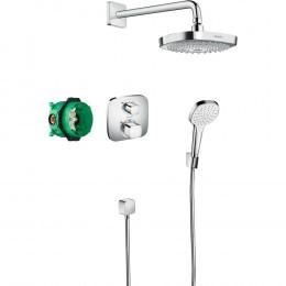 Душевой комплект Hansgrohe Croma Select E 27294000