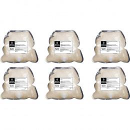 Жидкое мыло Binele BD01XA персик (Блок: 6 картриджей по 1 л) с помпой