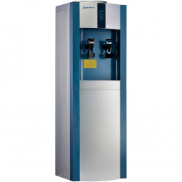 Кулер для воды AquaWork AW 16L/EN серебристо-синий