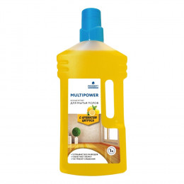 Средство для мытья пола Prosept Multipower E цитрус, 1 л