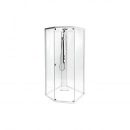 Передняя панель IDO Showerama 8-5 100x100 прозрачное стекло