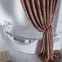 Штора для ванной Aima Design У37612 200x240, двойная, фиолетовая