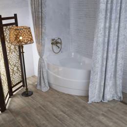 Штора для ванной Aima Design У37613 240x240, двойная, белая