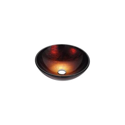 Рукомойник Kraus GV-682-12 mm коричнево-красно-золотистый
