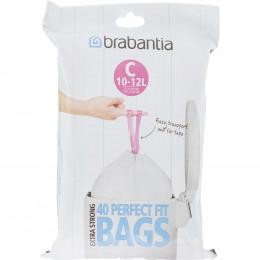Мешки для мусора Brabantia 361982 10/12 л в диспенсере