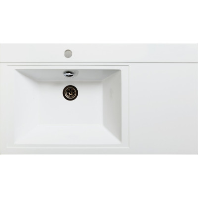 Мебельная раковина Runo Solo Grande Gamma 85 R