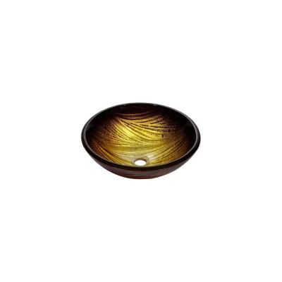 Рукомойник Kraus GV-390-19 mm коричнево-золотистый