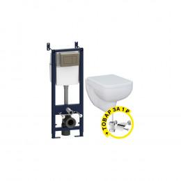 Комплект Am.Pm Tender IS345A1739 + ершик и держатель туалетной бумаги в подарок