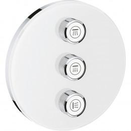 Переключатель потоков Grohe Grohtherm SmartControl 29152LS0 на три потребителя, moon white